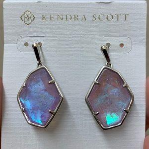 Kendra Scott Dax Amethyst Drop Earrings